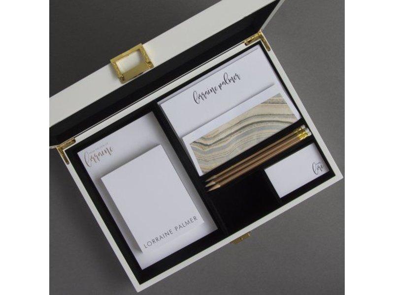 Haute Papier Black Stationery Wardrobe - WB11