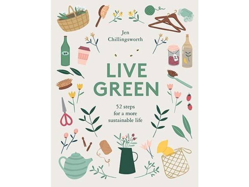 Chronicle Books (Hachette, Mudpuppy) Live Green: 52 Steps for a Sustainable Life