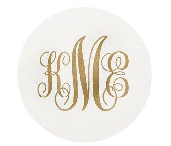Letterpress Coaster - M2