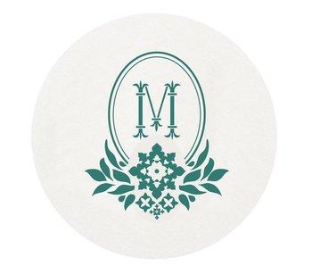 Letterpress Coaster - M171
