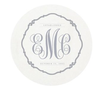 Letterpress Coaster - Traditional