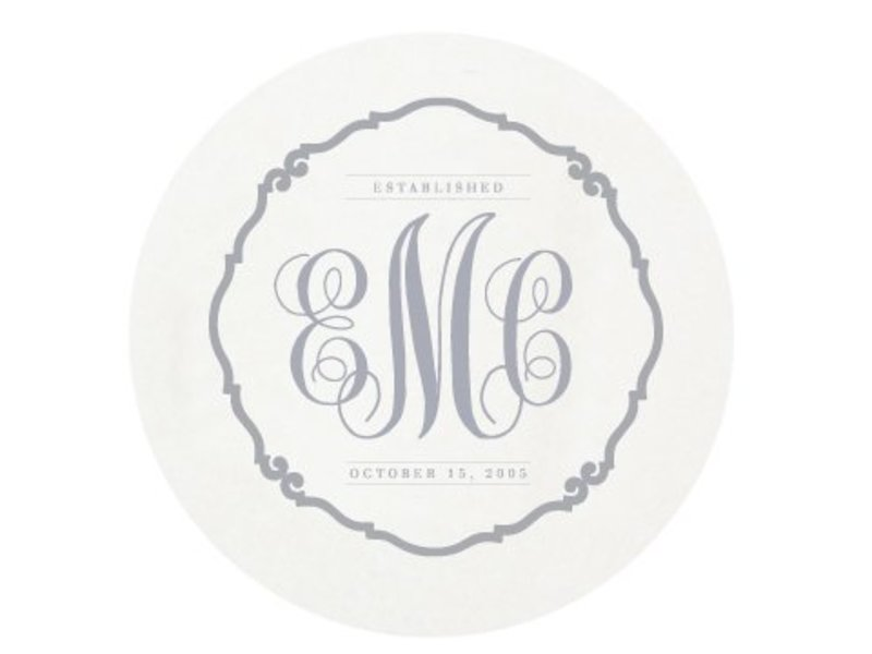 Haute Papier Letterpress Coaster - Traditional