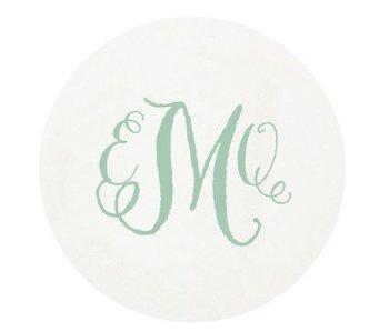 Letterpress Coaster - M85