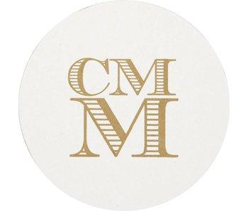 Letterpress Coaster - M13