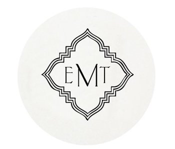 Letterpress Coaster - M19