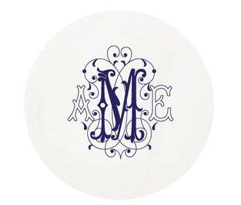 Letterpress Coaster - M89