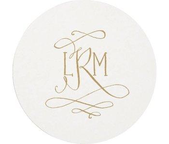 Letterpress Coaster - M61