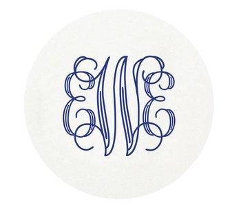 Letterpress Coaster - M140