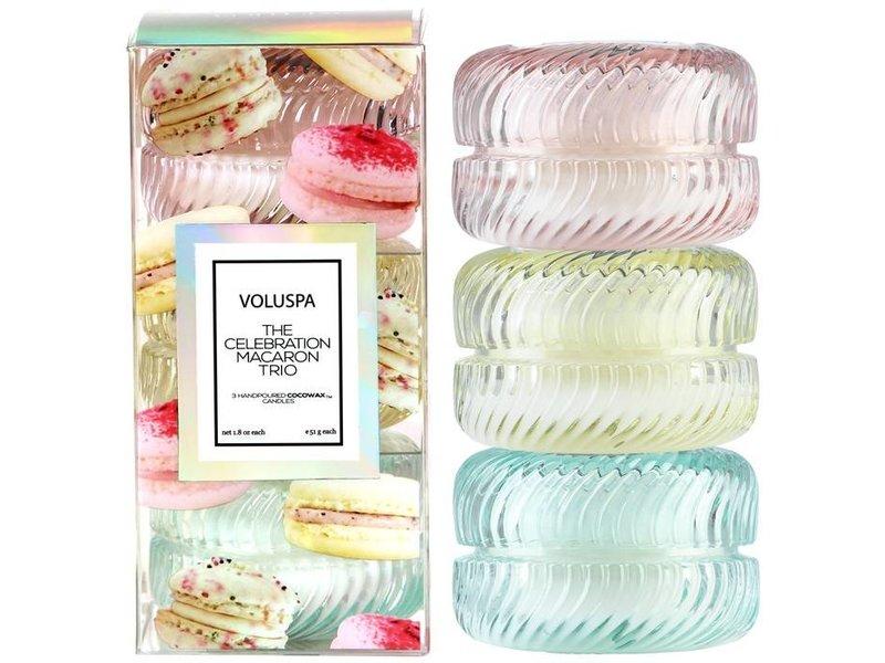 Voluspa 3 Macaron Celebration Giftset