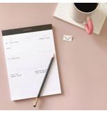 Smitten on Paper Ledger Legal Pad