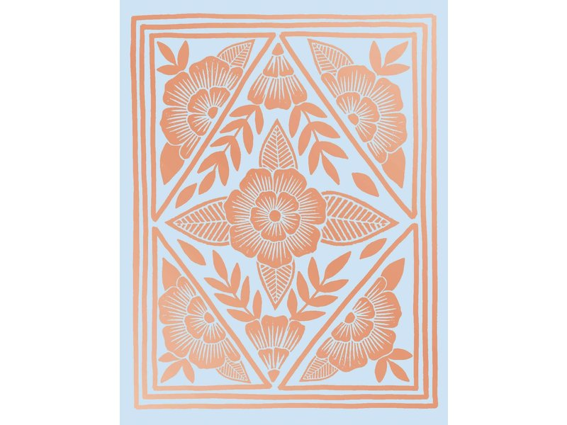 Chronicle Books Rose Gold Notecards