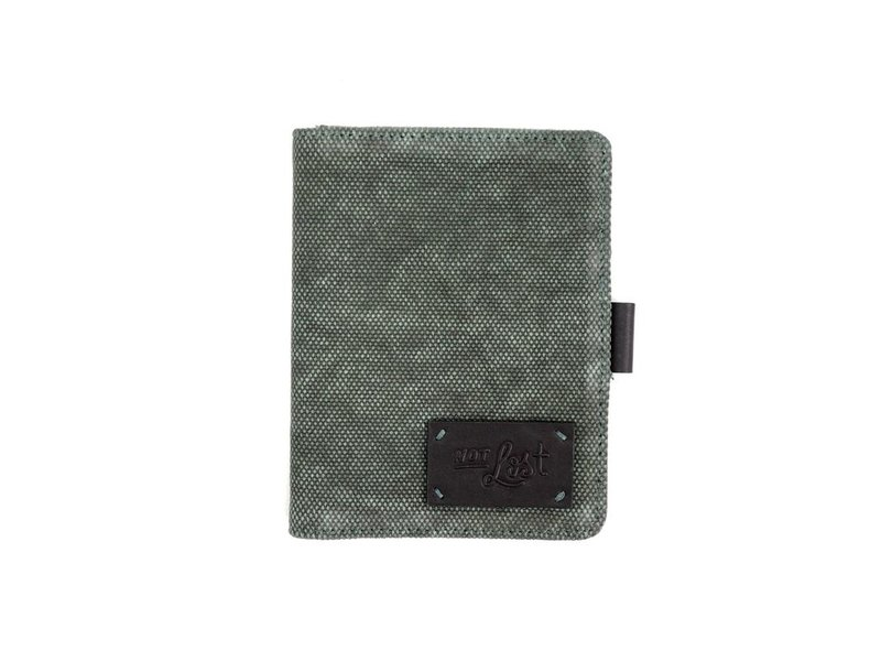 Floor 9 Hunter Canvas Luggage Tag