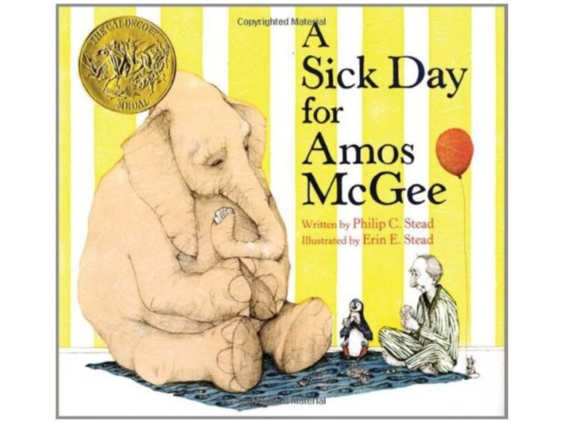 Macmillan Publishing Sick Day For Amos McGee