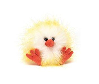 Crazy Chick White & Yellow