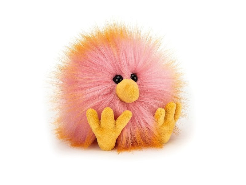JellyCat Inc Crazy Chick Pink & Yellow