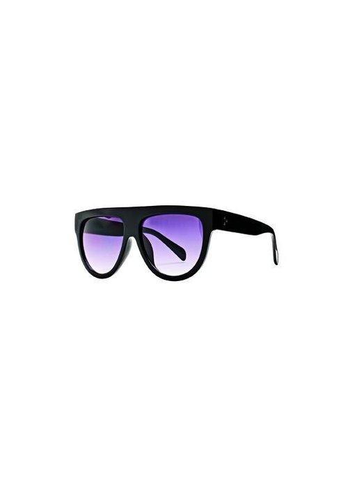 Sheild Black Sunglasses