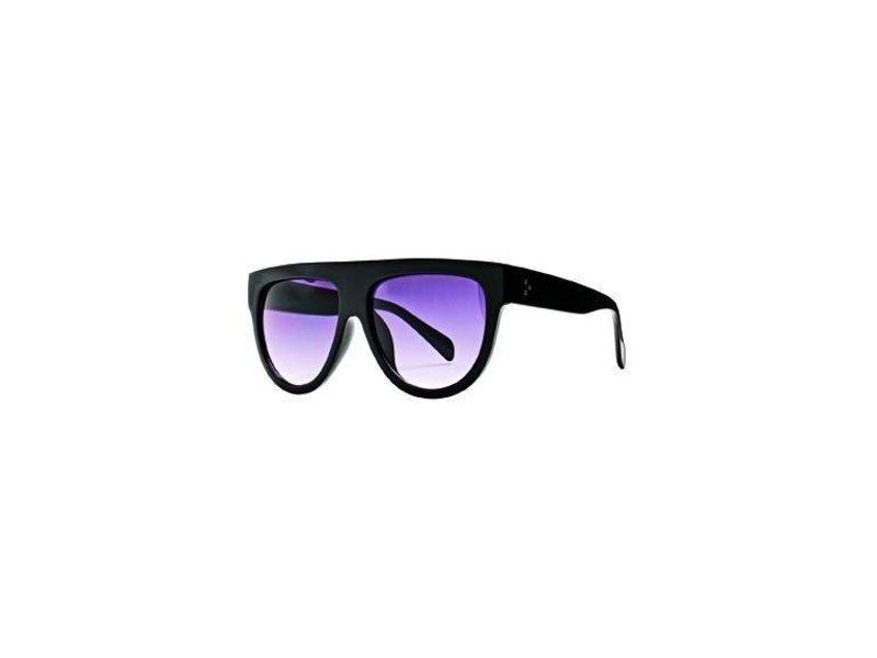 San Diego Hat Company Sheild Black Sunglasses