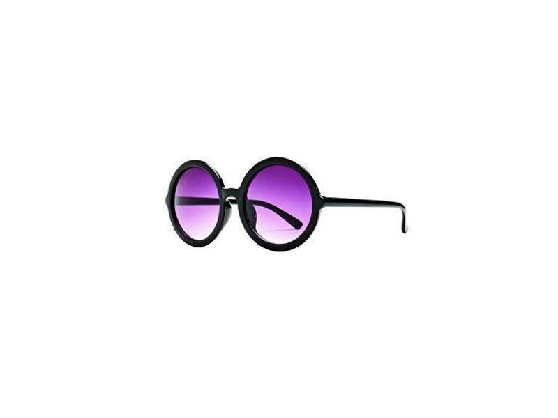 San Diego Hat Company Black Round Sunglasses
