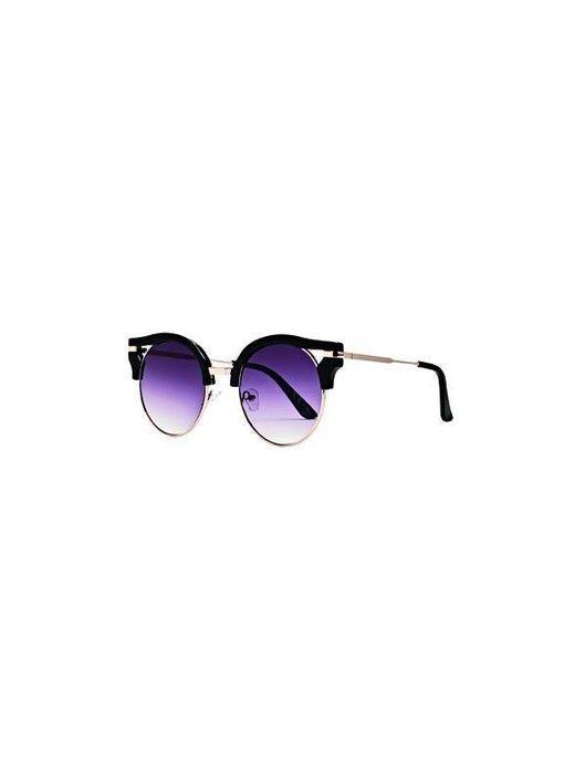 Black Metal and Plastic Sunglasses