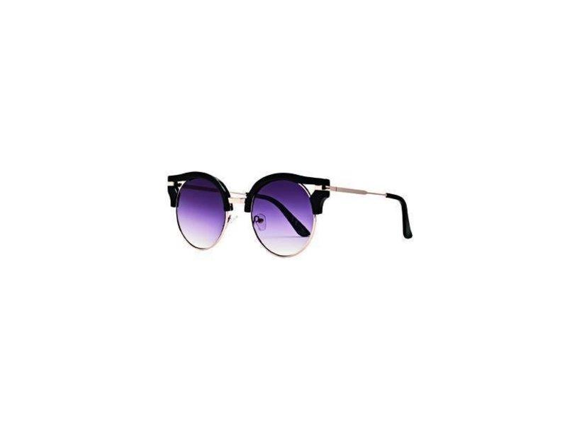 San Diego Hat Company Black Metal and Plastic Sunglasses