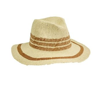 Fedora Pop Of Color Hat in Tan