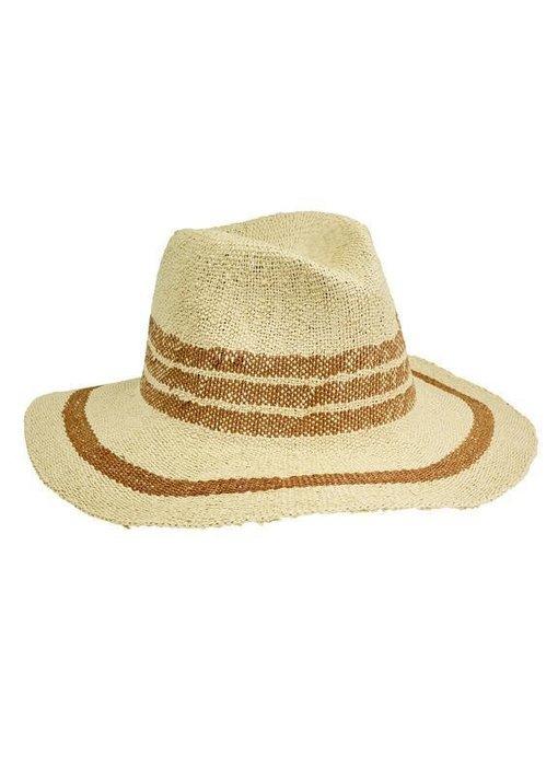 Fedora Pop Of Color Hat in Tan