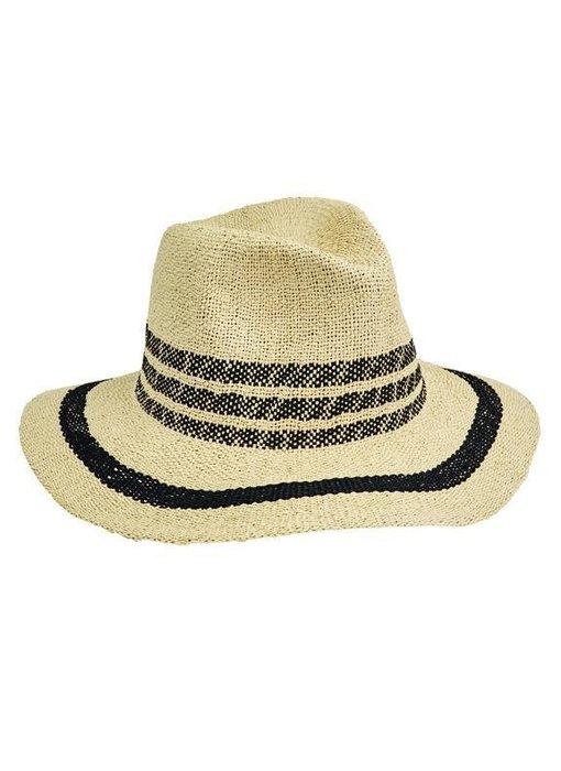 Fedora Pop Of Color Hat in Black