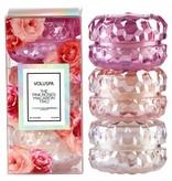 Voluspa Roses 3 Macaron Candle Giftset