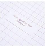 Graphique De France Lavender Glitter Snap Journal