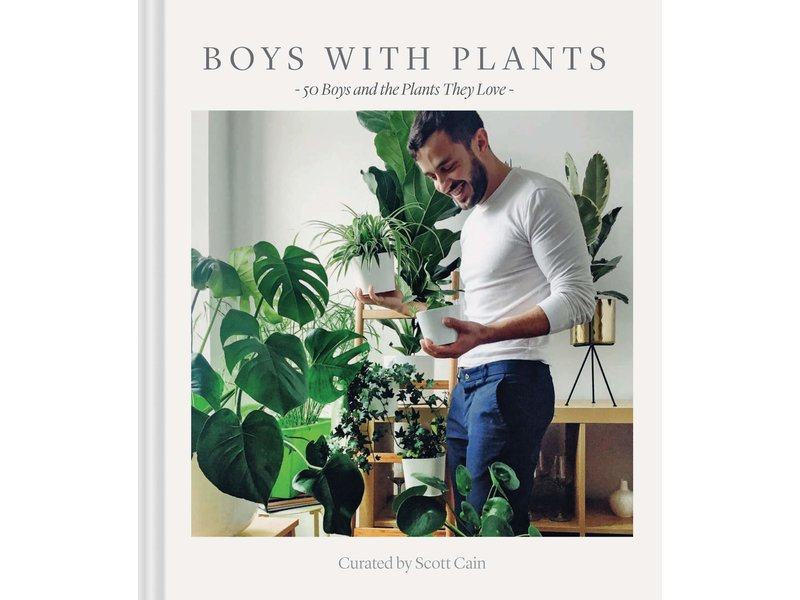 Chronicle Books (Hachette, Mudpuppy) Boys With Plants Book