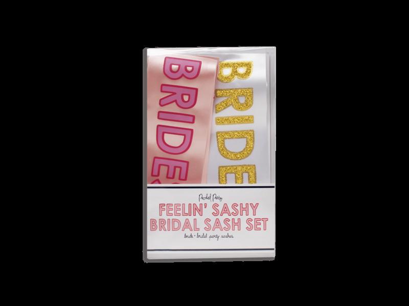Packed Party Feelin' Sashy Bridal Set