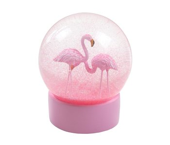 New Flamingo Snowglobe