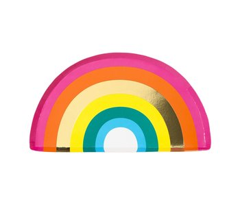 Rainbow Shaped Plate