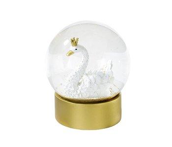 We Heart Swan Snow Globe