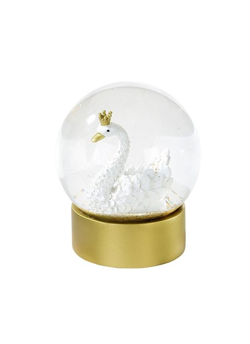 We Heart Swan Snow Globe