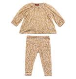 Milk Barn Bamboo Dress & Legging Set