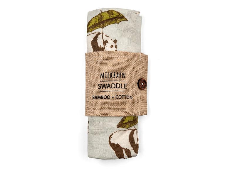 Milk Barn Bamboo Muslin Swaddle