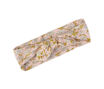 Bamboo Headband Rose Floral
