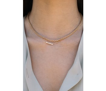 Hey Mama Gold Necklace