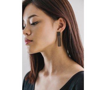 Cypress Chain Tassel Earrings
