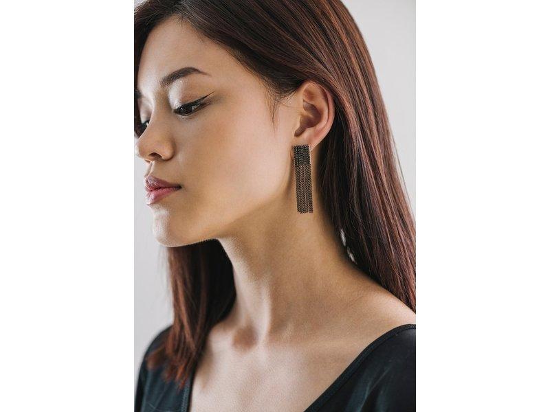 Lover's Tempo Cypress Chain Tassel Earrings