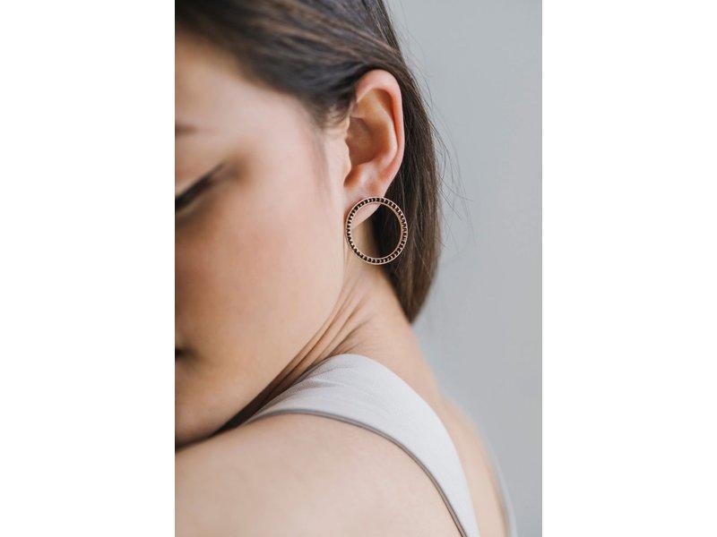 Lover's Tempo Portside Hoop Earrings