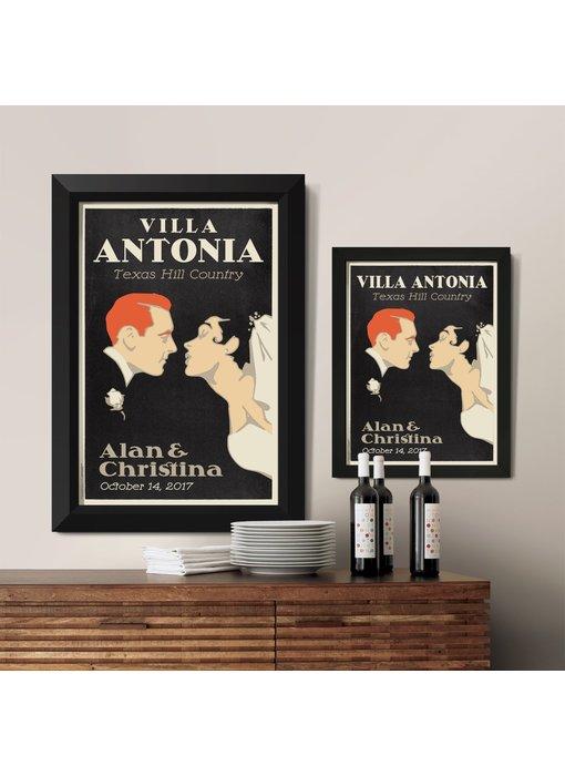 First Kiss Custom Poster