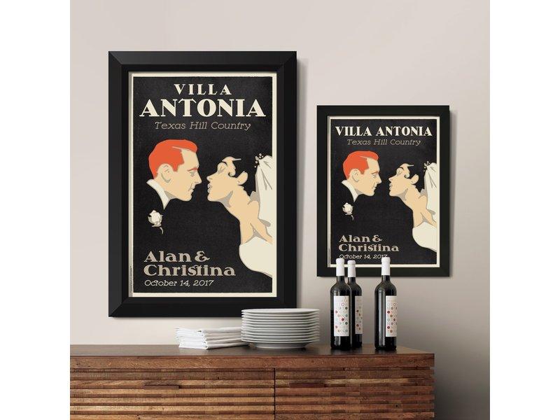 Alexander & Co. First Kiss Custom Poster