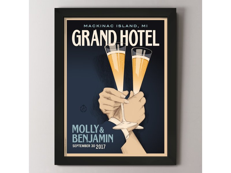 Alexander & Co. First Toast Custom Poster