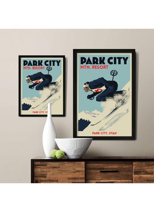 Downhill Custom Poster