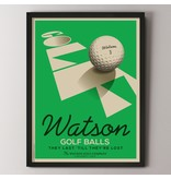 Alexander & Co. Golf Ball Custom Poster