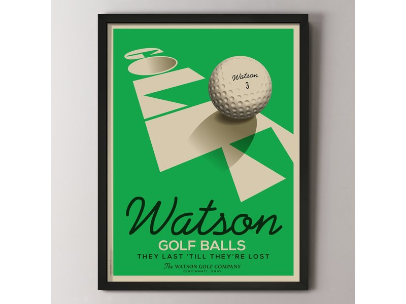 Alexander & Co. Golf Ball Custom Poster
