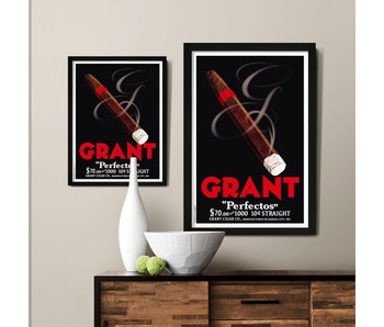 Cigar Smoke Custom Poster