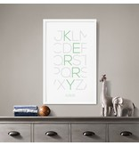 Alexander & Co. Alphabet Thin Custom Poster